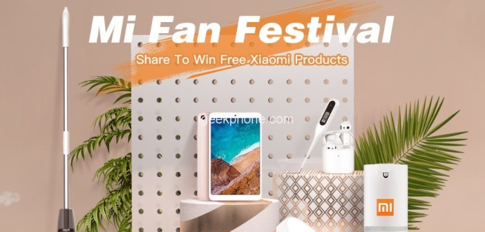 Check Out TOMTOP Mi Fan Festival 2020 | Share to Win Free Xiaomi Products