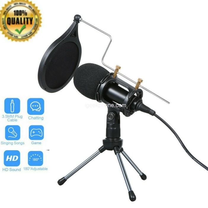 3.5mm Condenser Microphone Tripod
