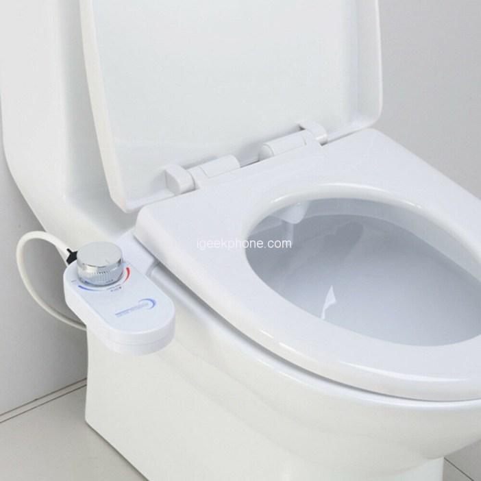 Single Nozzle Toilet Bidet Fresh Water Mechanical Toilet Seat