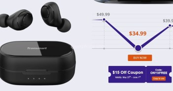 Tronsmart Onyx Free Review – UV Sterilization TWS Earbuds at $34.99 From Geekbuying (Coupon)