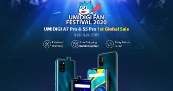 UMIDIGI S5 Pro and A7 Pro Kicks Off Global Sale in UMIDIGI Fan Festival 2020