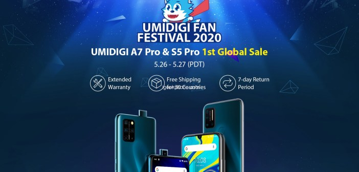 UMIDIGI S5 Pro and A7 Pro Kicks Off Global Sale in UMIDIGI Fan Festival 2020