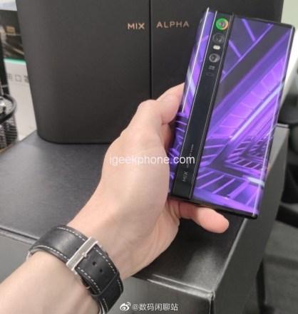 new generation Mi Mix Alpha