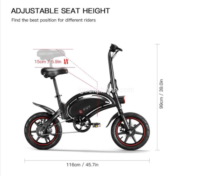 DYF D3F Electric Bike