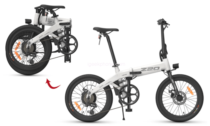 HIMO Z20 Folding Power Assist Electric Bicycle