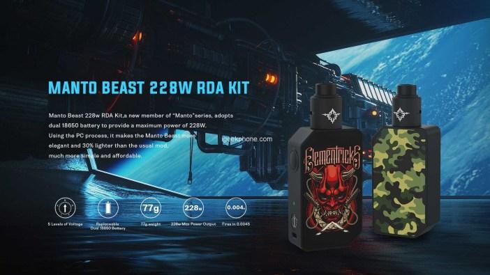 Manto Beast 228w RDA KIT