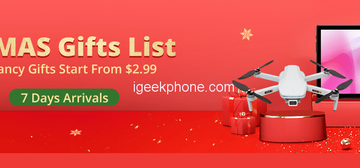 Banggood Christmas Gifts Here: Starts From Only $2.29