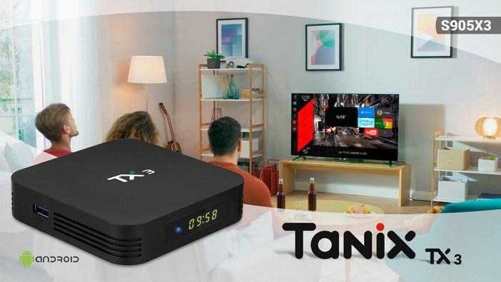TANIX TX3 ALICE UX Tv Box