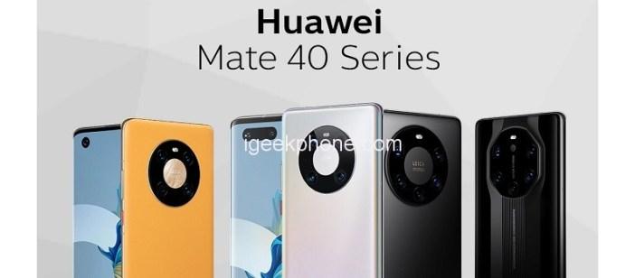 Huawei Mate 40 HarmonyOS 2.0 Update