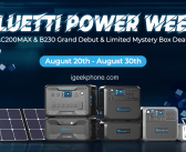 Bluetti Power Week Begins Now: Check What You Wonder Know