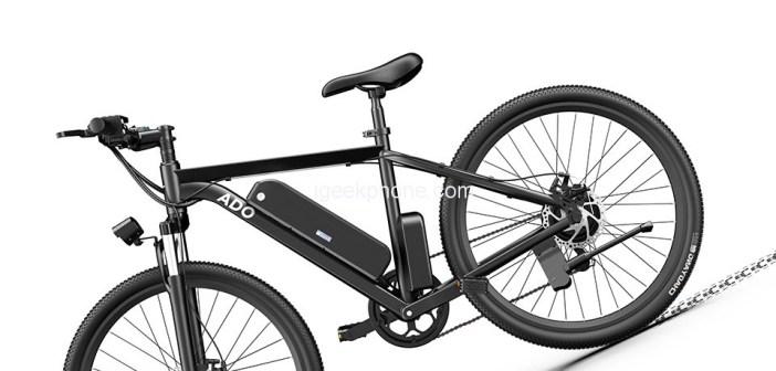 ADO A26 Electric Moped Bike 26 inch Mountain Bike in $899.99 @Geekbuying Sale