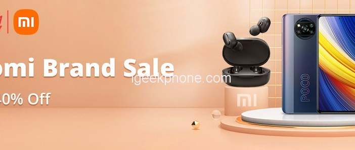 Banggood Offers Xiaomi Brand Sale With Up To 40% OFF Discount