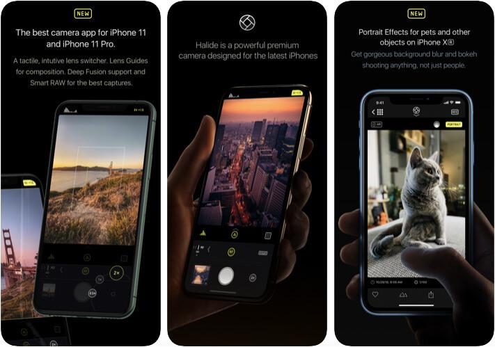 Приложение Halide Camera для iPhone 11 Pro Max