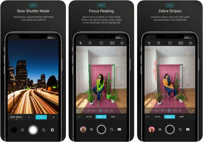 Приложение Moment Camera для iPhone 11 Pro Max