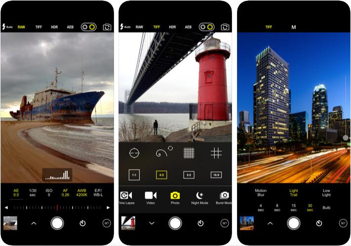 Приложение камеры ProCam 7 для iPhone 11 Pro Max