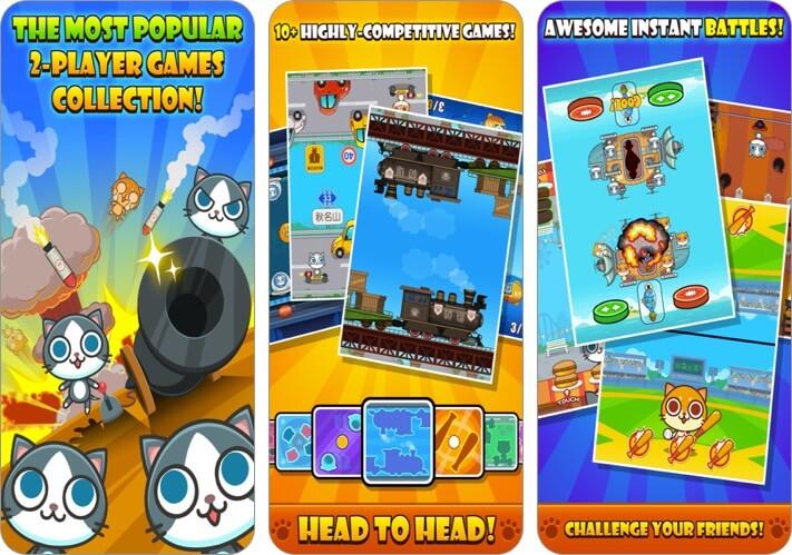 скриншоты игры iphone игры кошки карнавал 2 игрока
