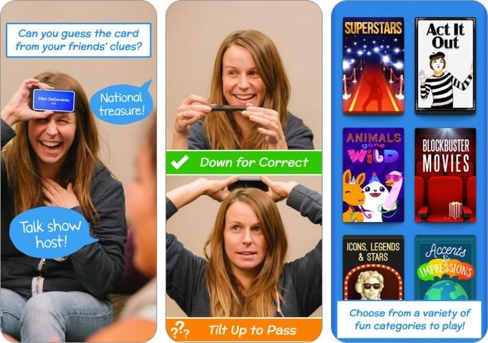 хедз-ап скриншот игры iphone для двух игроков
