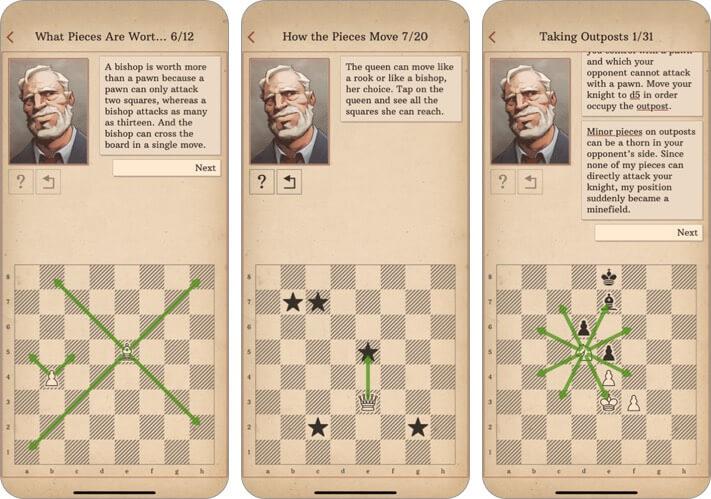 научиться шахматам с доктором волком для iphone и ipad скриншот игры