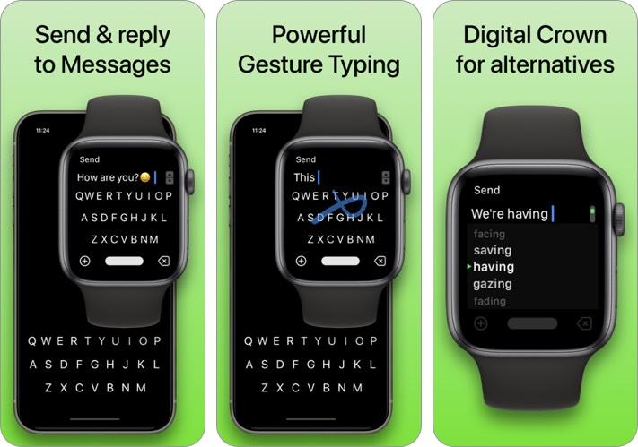 flicktype клавиатура iphone и ipad скриншот приложения