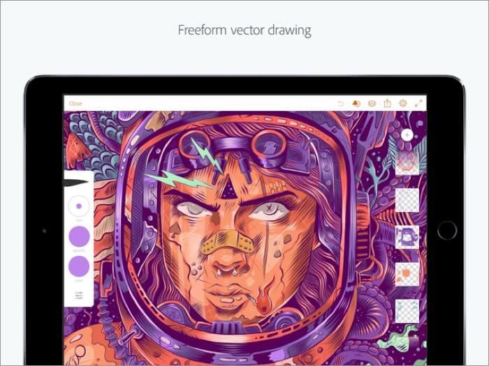 Adobe Illustrator скриншот приложения для iPhone и iPad