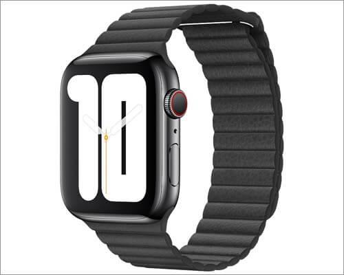 ремешок из кожи apple для apple watch series 5