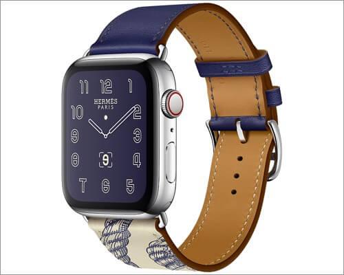 Apple Watch Hermes кожаный ремешок для Apple Watch Series 5