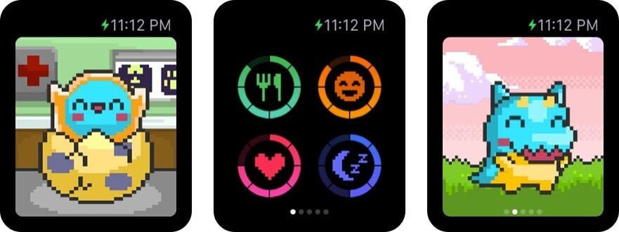 боевой лагерь - лови монстров скриншот игры на Apple Watch