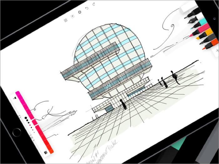 Скриншот приложения flow iphone и ipad