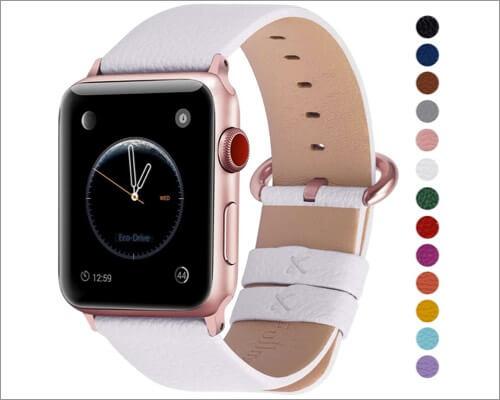 Кожаный ремешок fullmosa для apple watch series 5