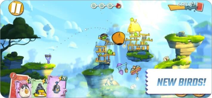 Скриншот игры Angry Birds 2 для iPhone и iPad