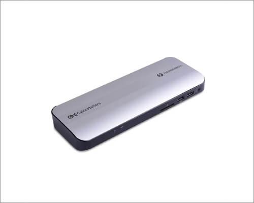 Кабель имеет значение Алюминиевая док-станция Thunderbolt 3 для MacBook Pro