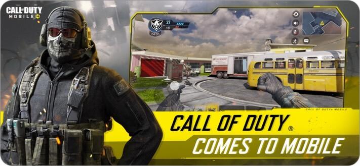 Скриншот игры Call of Duty Mobile для iPhone и iPad