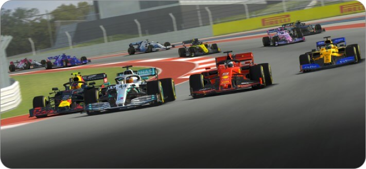 Снимок экрана игры Real Racing 3 для iPhone и iPad