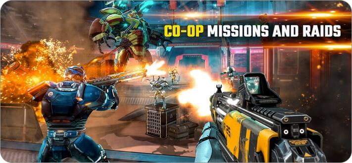 Скриншот игры Shadowgun Legends для iPhone и iPad