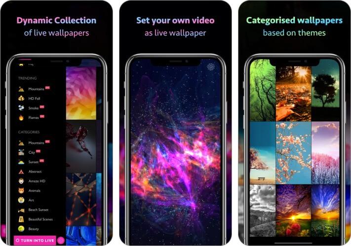 10000+ обоев и тем Скриншот приложения для iPhone и iPad