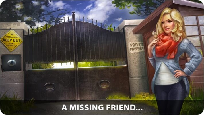Детективная игра Adventure Escape для iPhone и iPad Скриншот