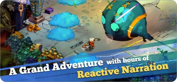 Скриншот ролевой игры Bastion для iPhone и iPad
