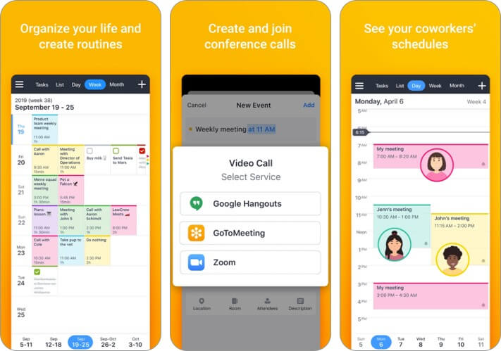 Календари 5 от Readdle для iPhone и iPad Скриншот