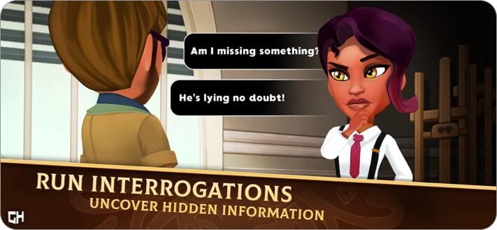 Детектив Джеки Скриншот игры для iPhone и iPad