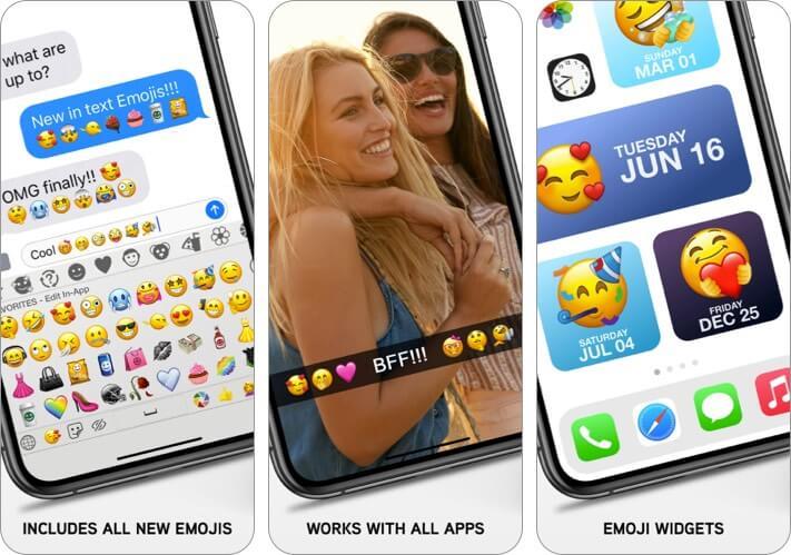 Скриншот приложения Emoji для iPhone и iPad