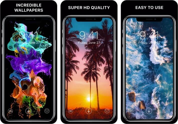 Everpix Cool Wallpapers Приложение для iPhone и iPad Скриншот