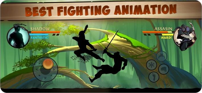 Shadow Fight 2 Ролевая игра для iPhone и iPad Скриншот