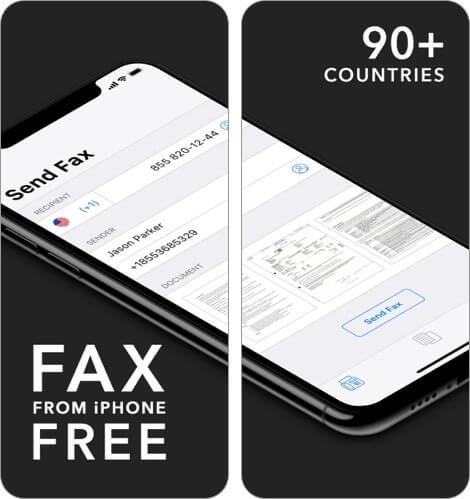 Бесплатное приложение для факсов для iPhone и iPad Скриншот