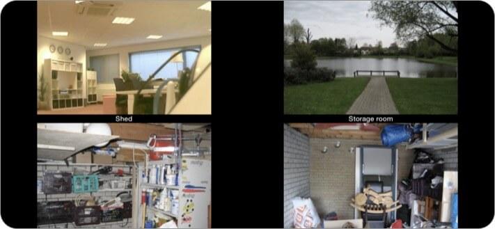 Скриншот приложения Foscam Surveillance Pro Security для iPhone и iPad