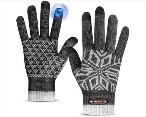 Перчатки Bymore с сенсорным экраном для iPhone и iPad