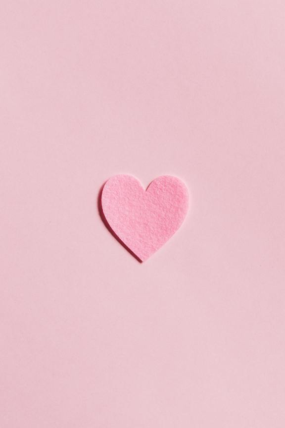 Розовый день святого Валентина iPhone Обои