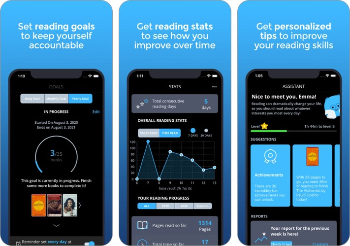 Скриншот приложения для iPhone и iPad Bookly New Year Resolutions