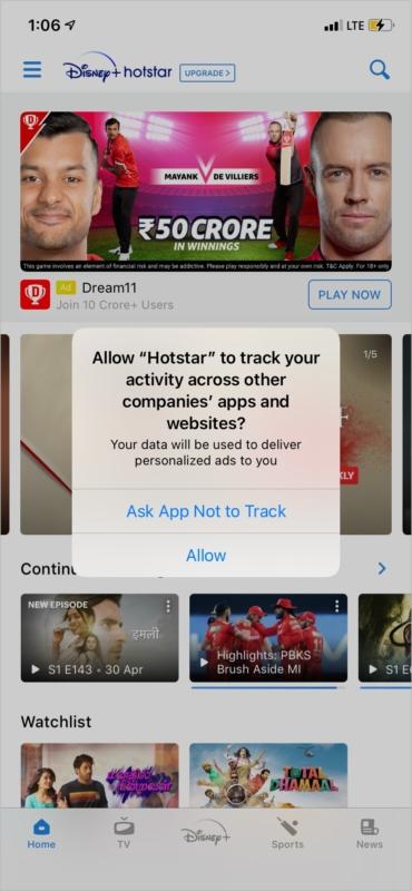 Как запретить определенному приложению для iPhone отслеживать вас