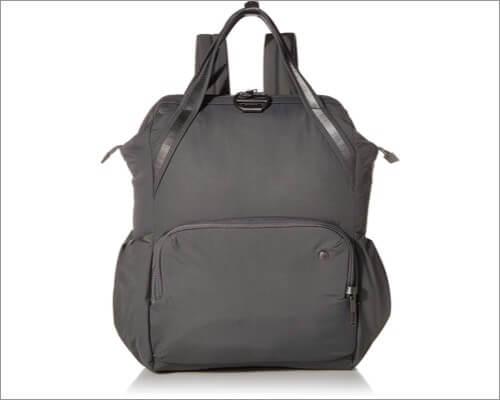 Женский противоугонный рюкзак Pacsafe для MacBook