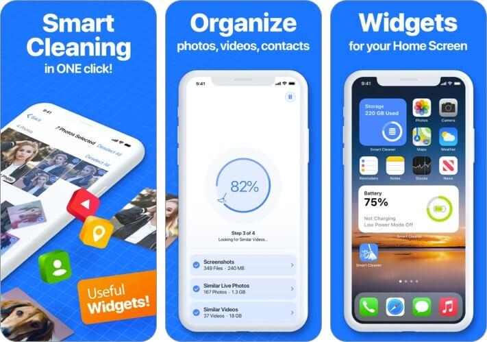 Скриншот приложения Smart Cleaner для iPhone и iPad